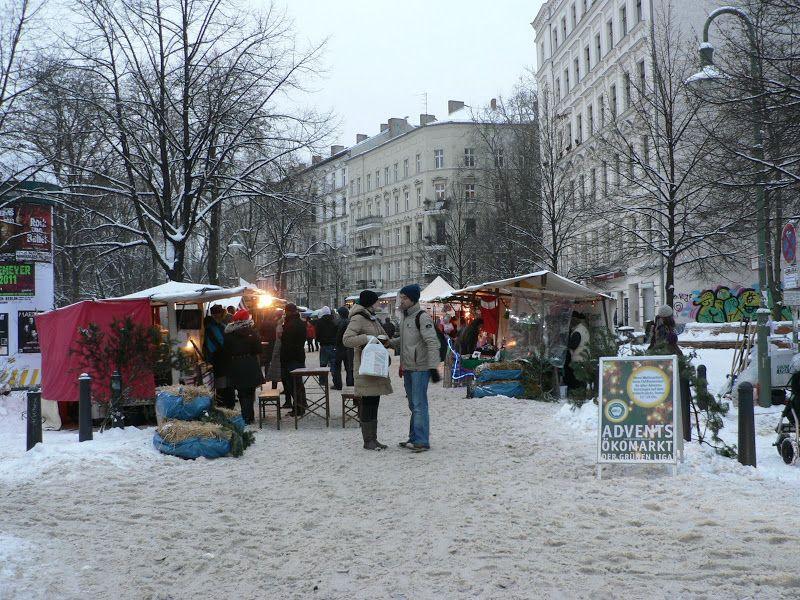 Ökomarkt am Kollowitzplatz Berlin