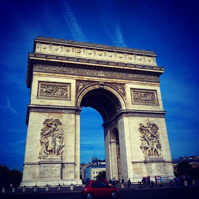 """Der Pariser Triumphbogen """"Arc de Triomphe"""""""