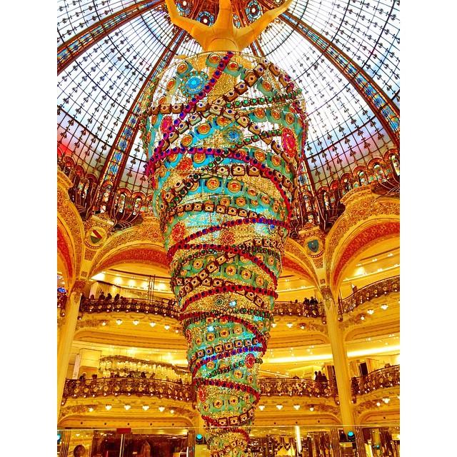 Galeries Lafayette in Paris Frankreich