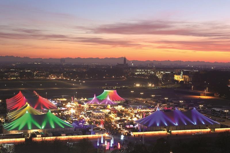 Tollwood Winter Festival in München