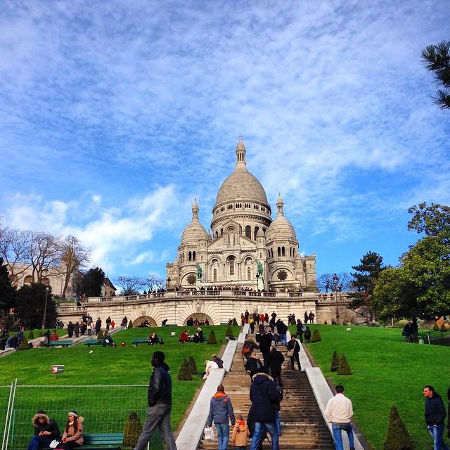Die Basilika Sacré-Cœur de Montmartre