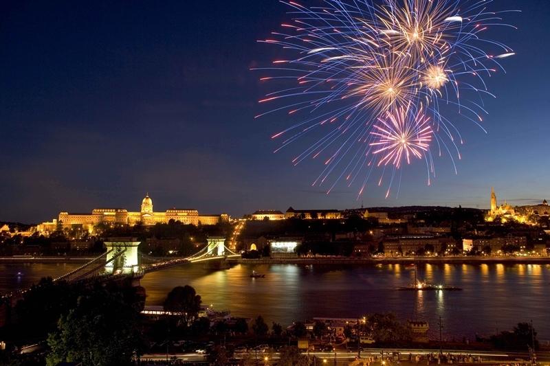 Silvester in Budapest Ungarn