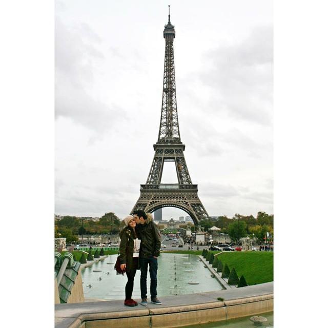 Paris Heiratsantrag Eiffelturm Frankreich