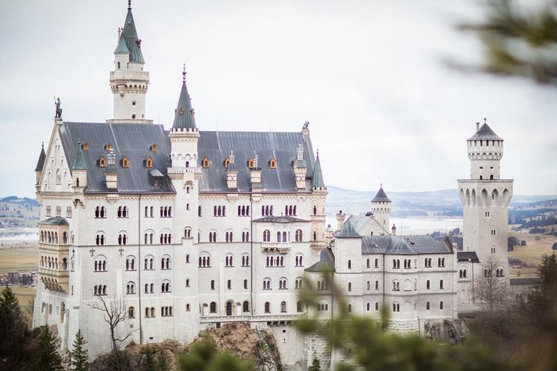 Schloss Neuschwanstein romantischer Ort Heiratsantrag