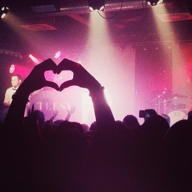 Konzert Herz Menge Heiratsantrag