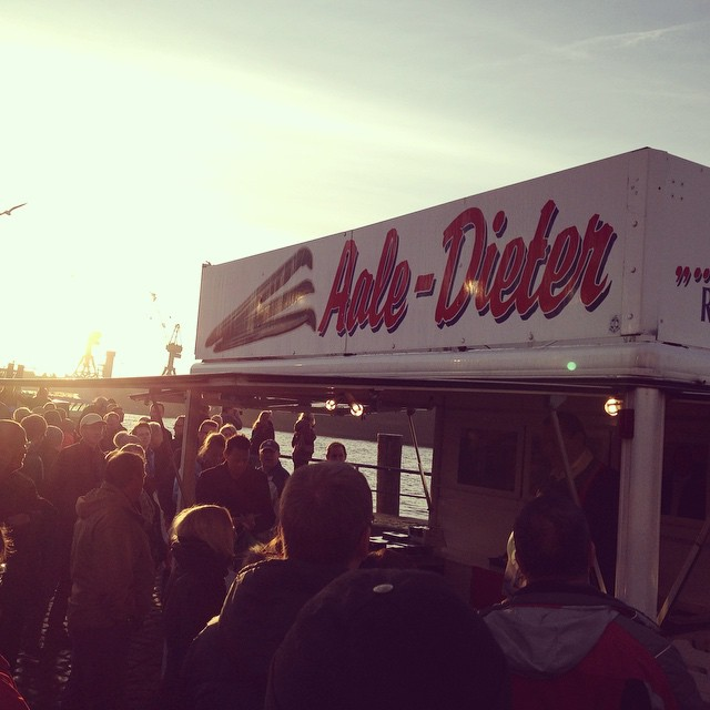 Aale Dieter Hamburger Fischmarkt