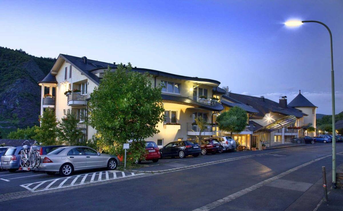 Außenansicht Hotel Moselromantik Kessler Meyer