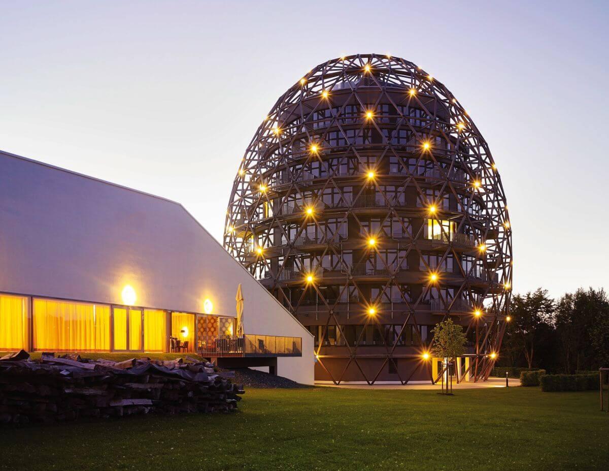 Außenansicht Hotel Oversum Sauerland Ei