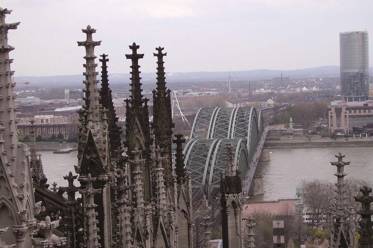 Führung über die Dächer des Kölner Doms (c) Expedition Colonia