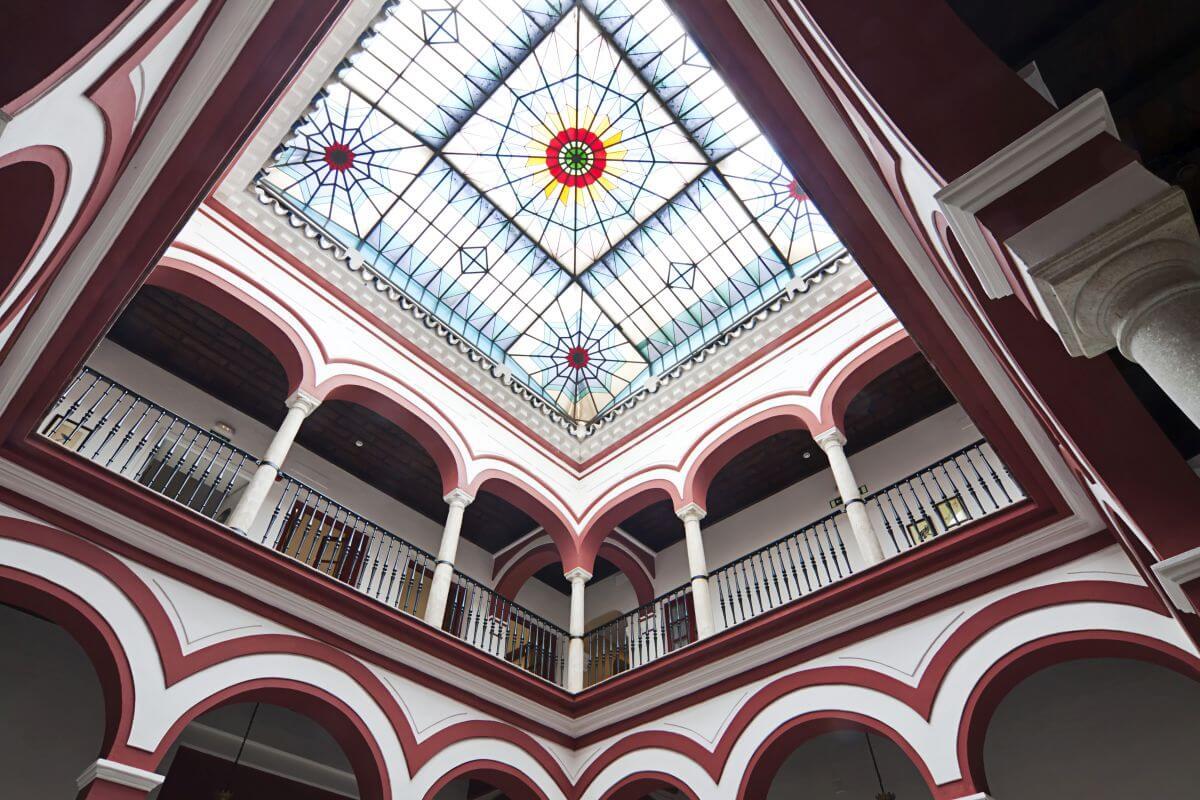Hotel Las Casas de los Mercaderes Rundbogen Halle