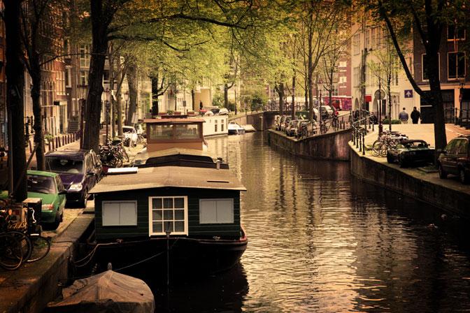 Gracht von Amsterdam