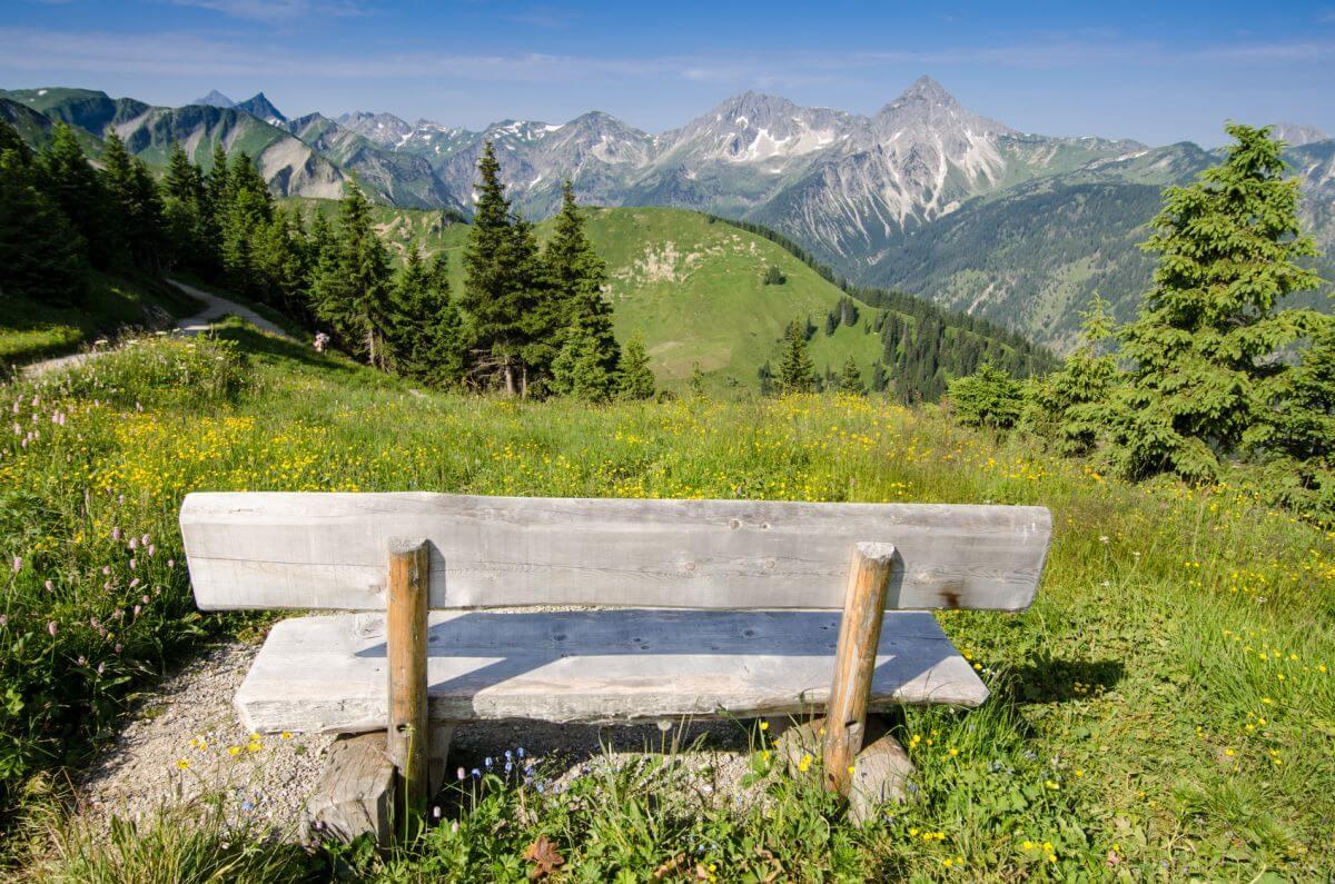 Tannheimer Tal Allgäu Landschaft Österreich