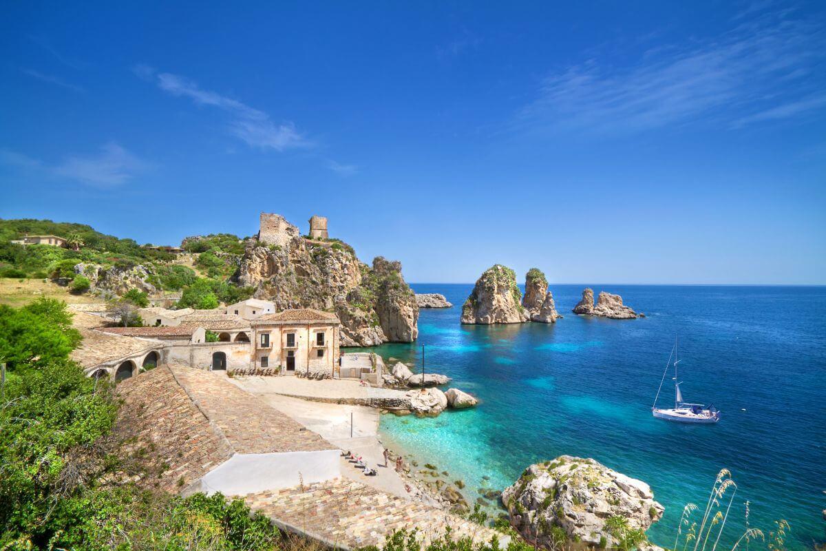 Strand Sizilien Italien