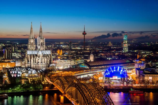 Skylien von Köln