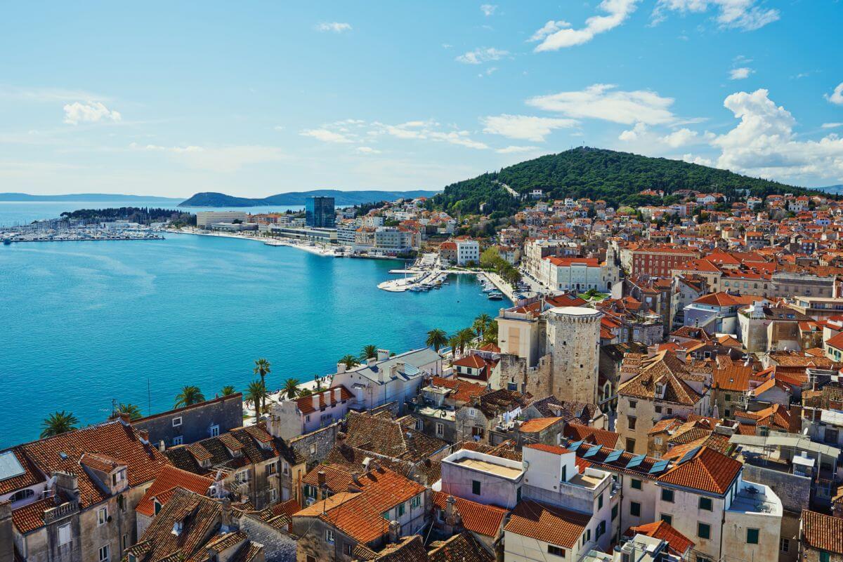 Hafen Split Kroatien
