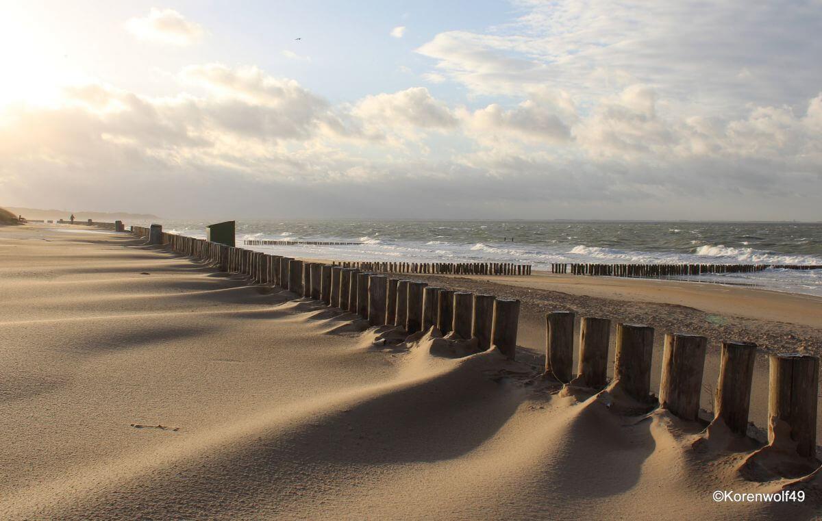Strand Meer Nordsee Zeeland Niederlande