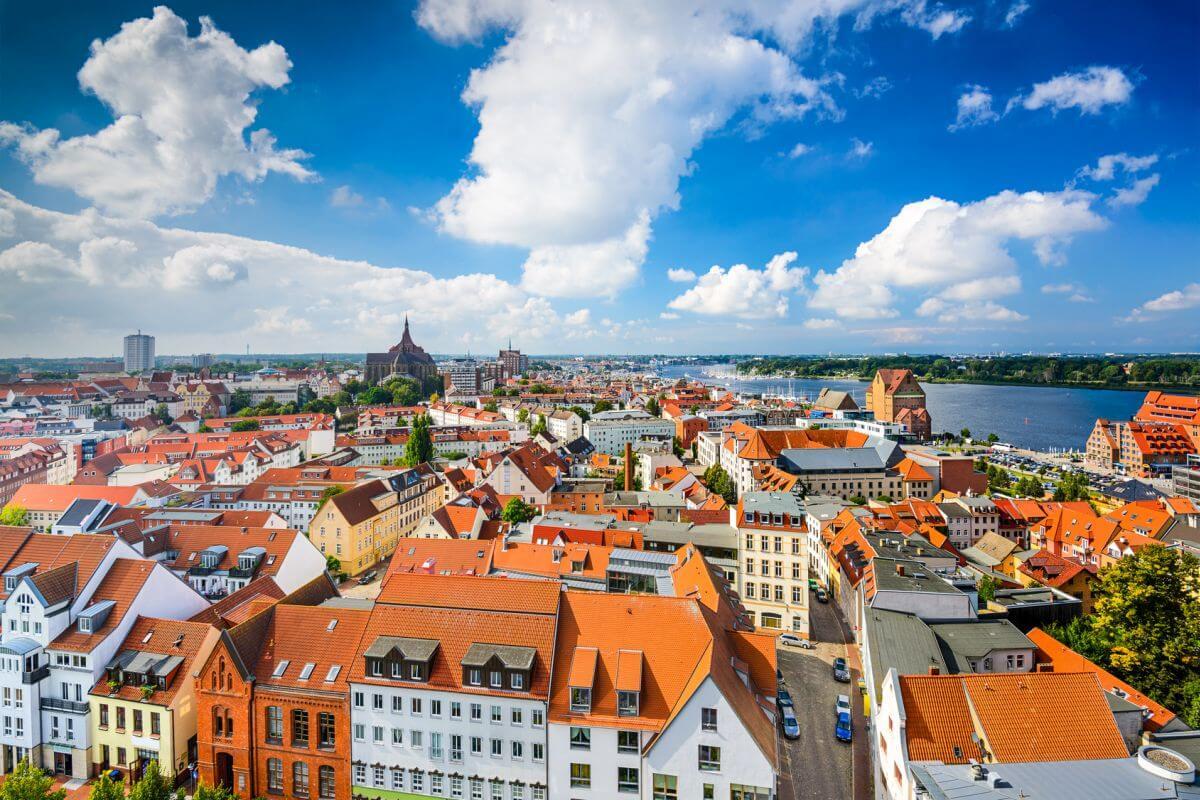 Rostock Stadt Ostsee