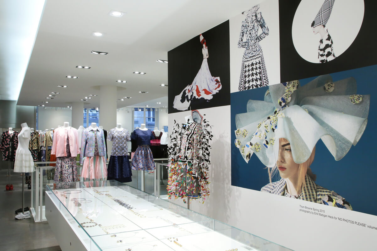 Paris Store der keine Wünsche offen lässt
