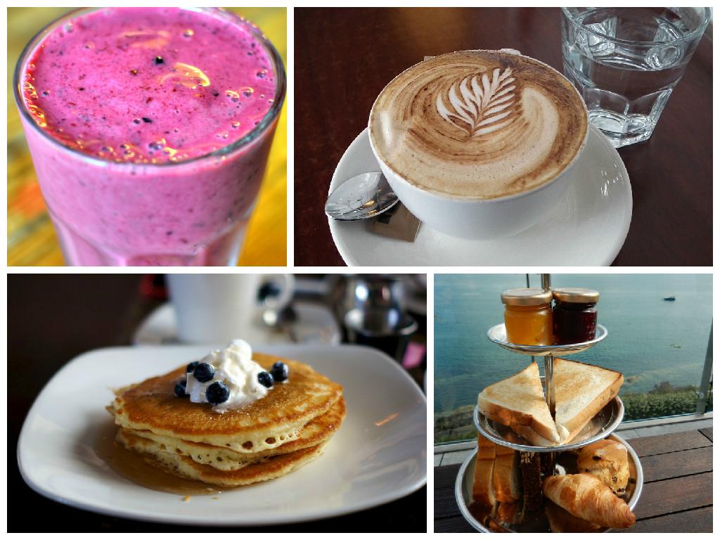 Collage Frühstück