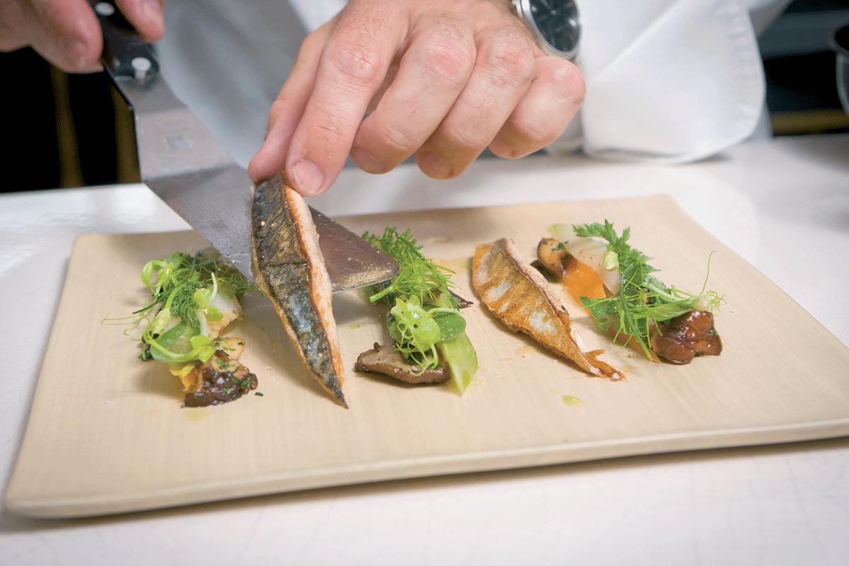 Fisch schneiden