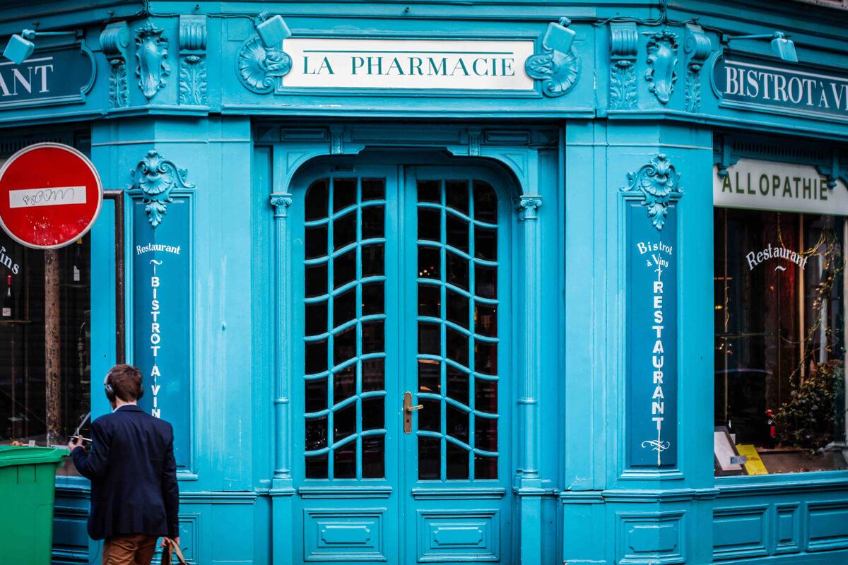 Paris Restaurant La Pharmacie