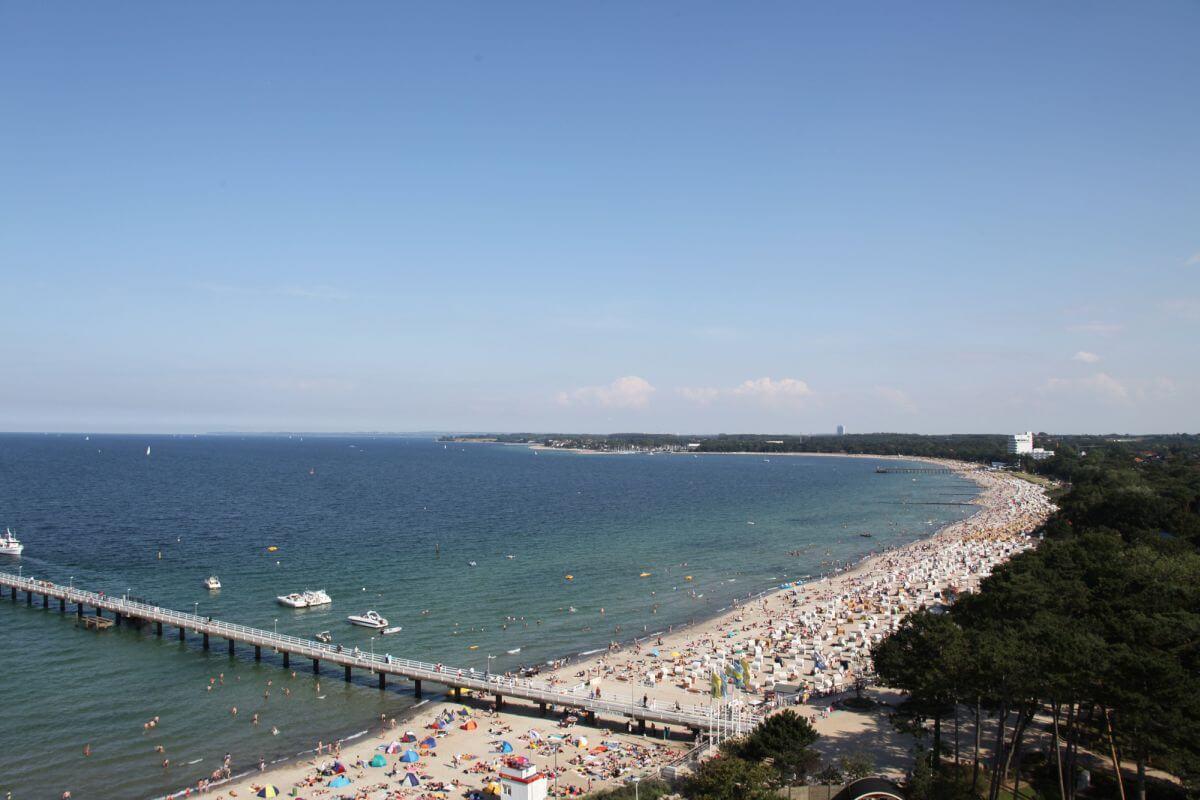 Luftaufnahme Timmendorfer Strand
