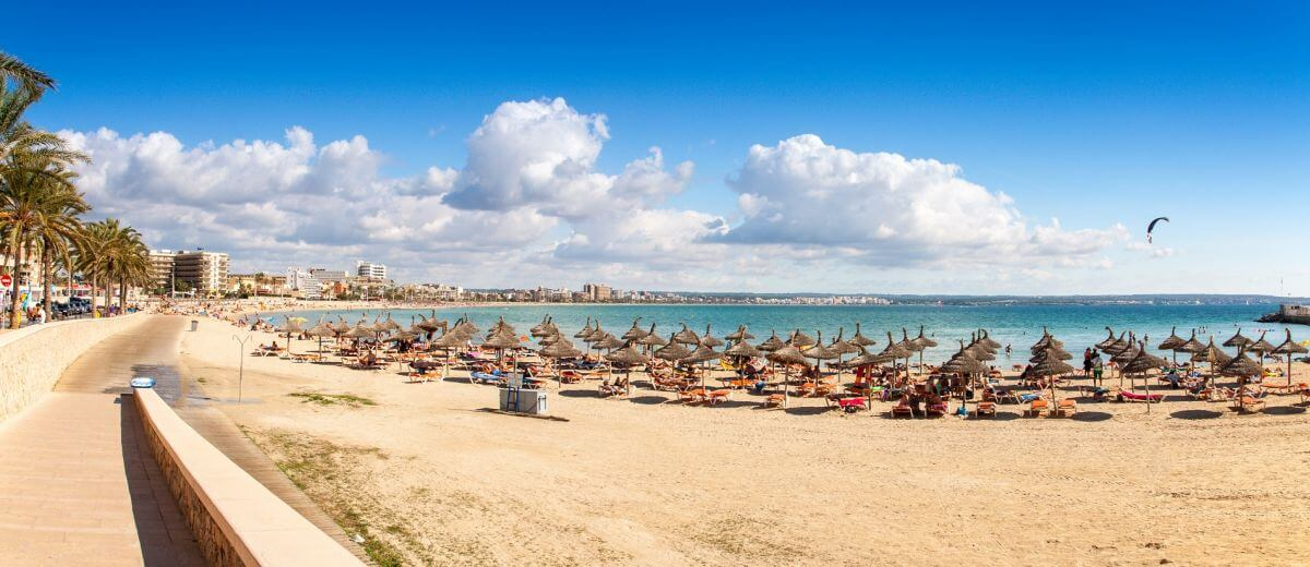 Strand Palma de Mallorca Plaja de Palma
