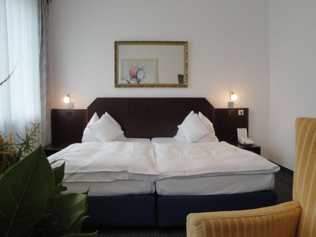 Hotel Hanseat Doppelzimmer