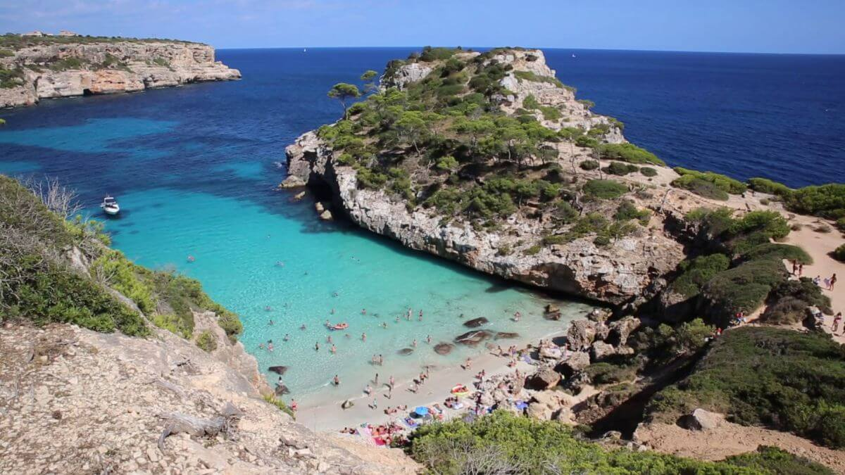 Caló des Moro auf Mallorca