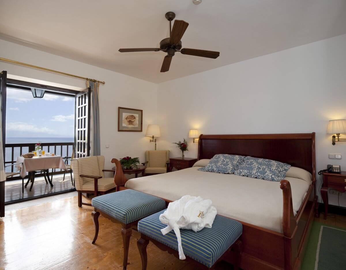 Doppelzimmer im Hotel Parador de la Gomera