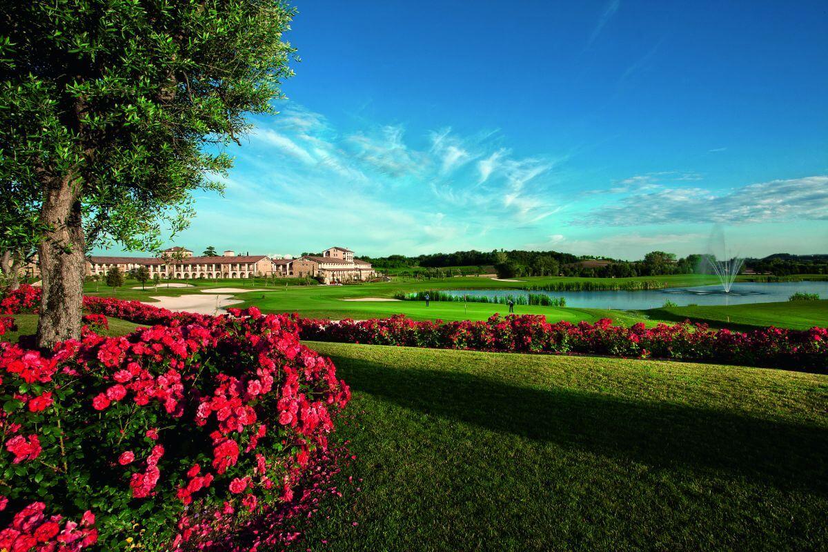 Gourmethotel am Gardasee Chervo Golf Golfanlage 36-Loch