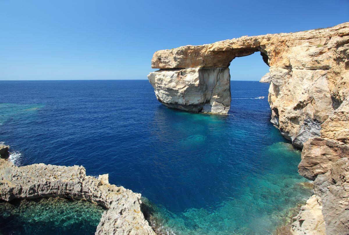 Felsentor Azure Window Gozo Malta