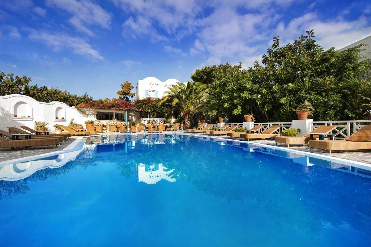Hotel Matina auf Santorin Griechenland