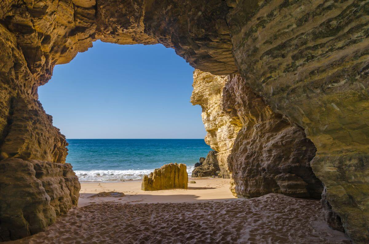Praia de Beliche in Sagres Portugal