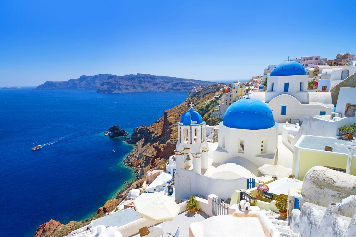 Insel Santorini Griechenland