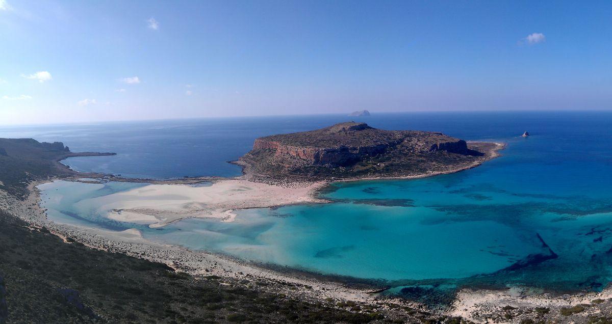 Strand von Balos auf Kreta
