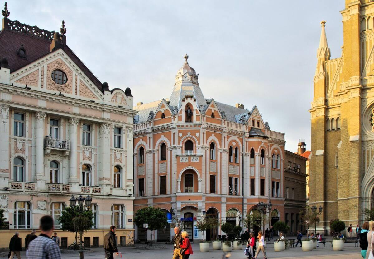 Günstige übernachten in Novi Sad Serbien