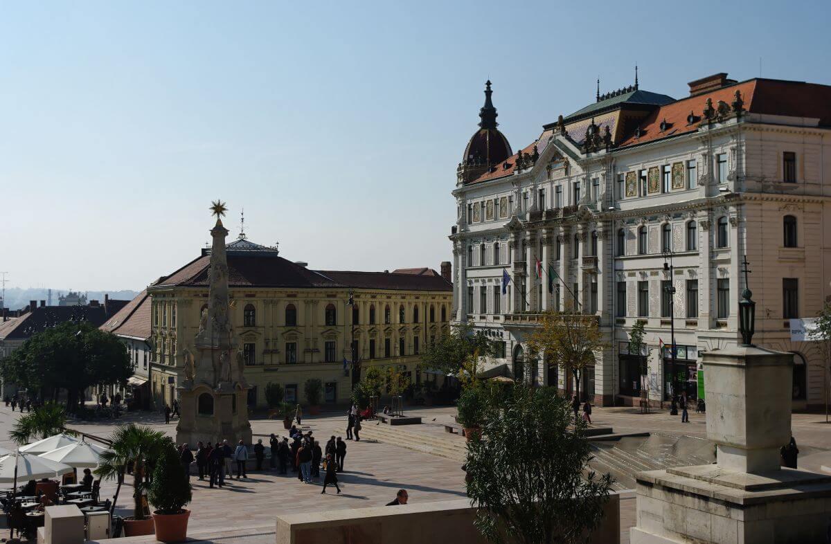 günstig Übernachten in Pecs in Ungarn