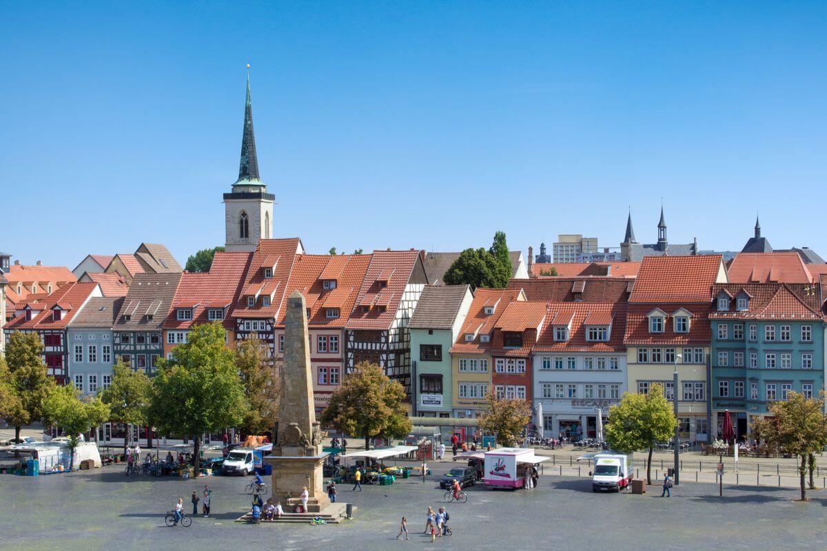 Günstig übernachten in Erfurt