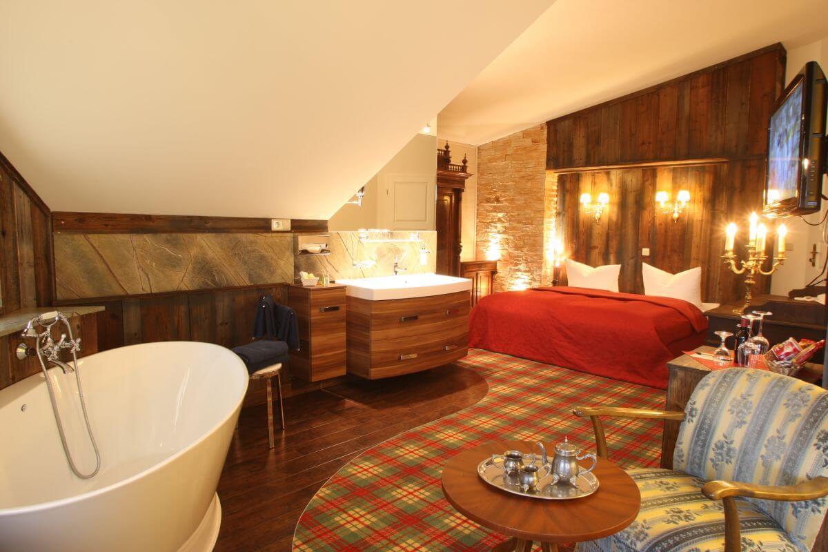 Wellness-Zimmer im Hotel Seeschlösschen