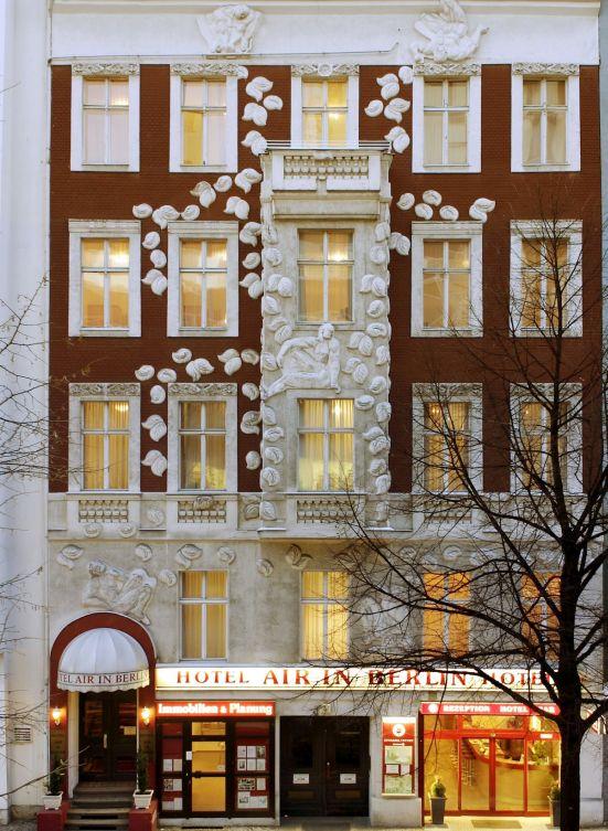 Außenfassade des Hotel Air Berlin