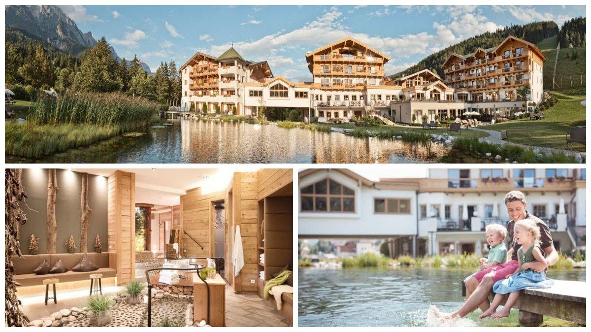 Vorsätze-Salzburger Land Leogang-Hotel Forsthofgut-Collage